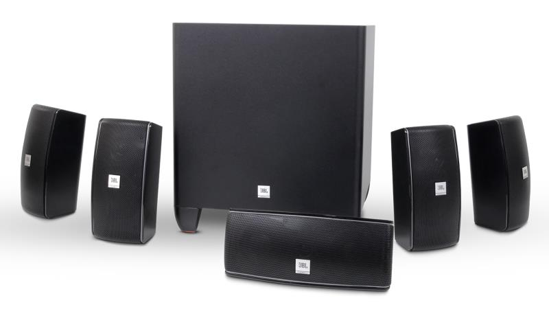 JBL Cinema 610 Advanced 5.1 Home Theater Speaker System