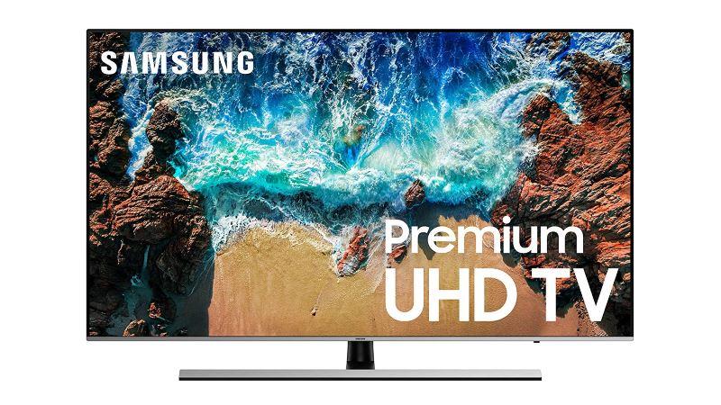 Samsung UN49NU8000FXZA Flat 49 4K UHD 8 Series Smart LED TV