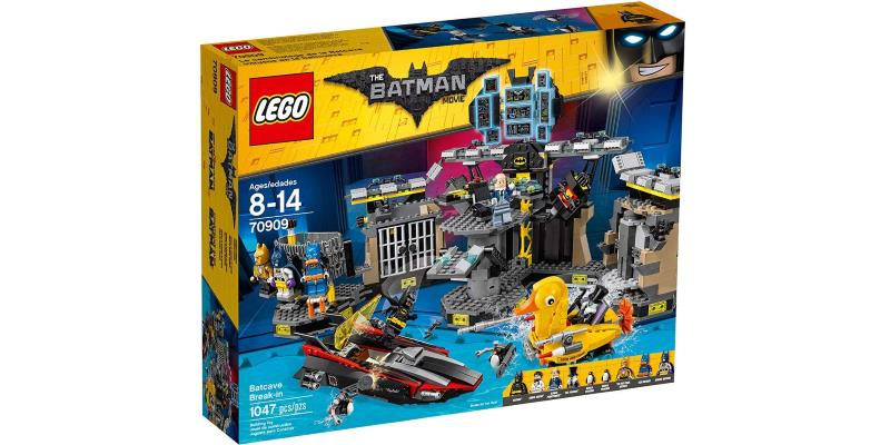 THE LEGO BATMAN MOVIE Batcave Break-in