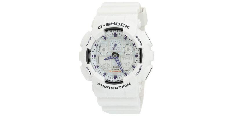 Casio G-Shock GA100A-7A Sports Watch